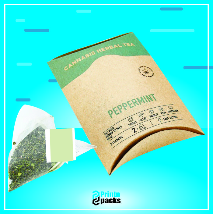 Hemp Tea Bags Boxes